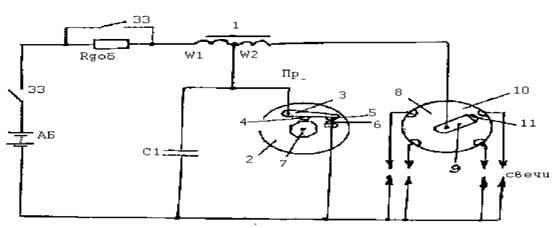 Cхема батарейной системы